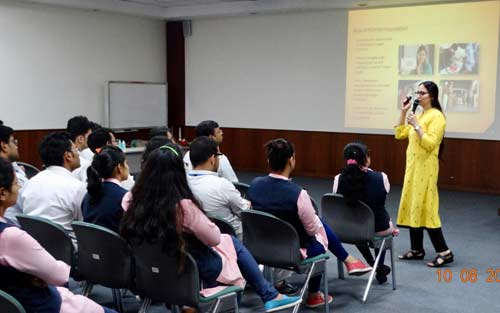 Office Associates Attending The English Session At Honda Cars India Ltd
