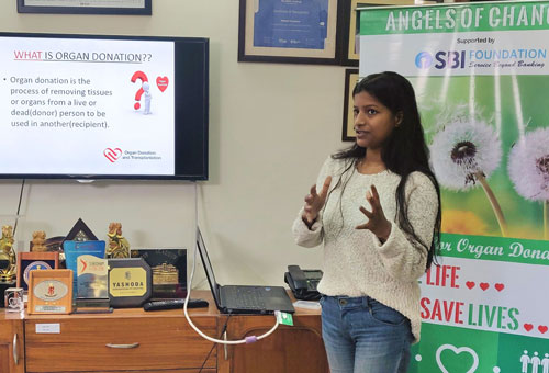 speech on organ donation in india