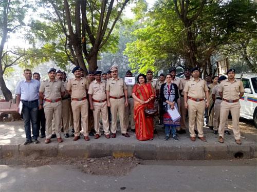 Awareness Talk on Organ Donation at Khandeshwar Police