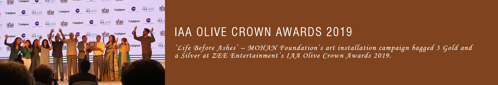 IAA Olive Crown Awards 2019