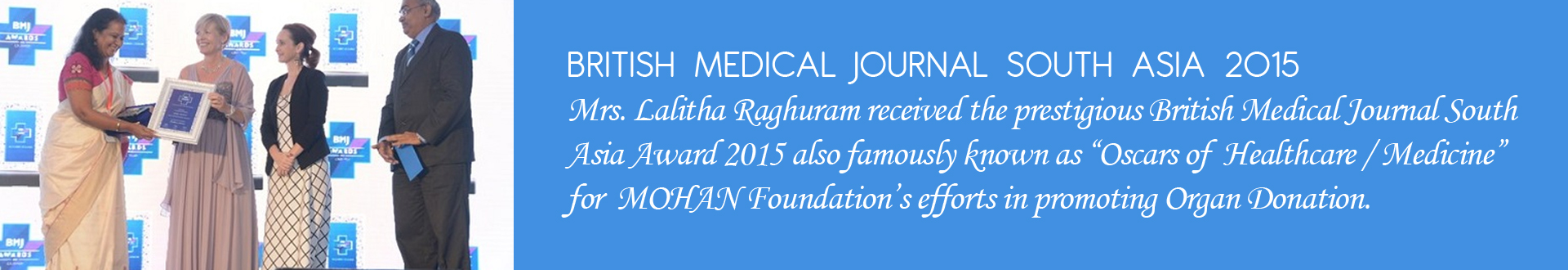 BRITISH MEDICAL JOURNAL SOUTH ASIA 2015